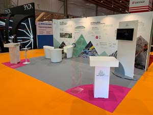 images realisations salon-stand Transalpin_SIFER2019 tunnel-2