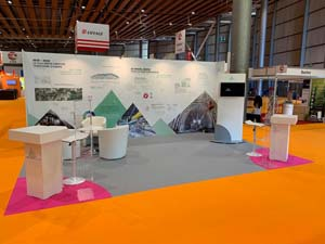 images realisations salon-stand Transalpin_SIFER2019 tunnel3