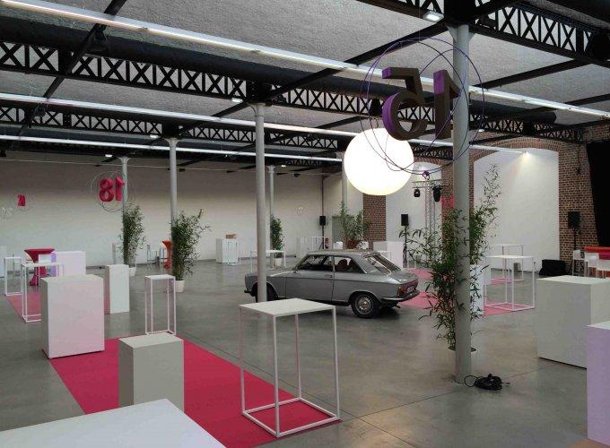 R alisations de salons professionnels et agencement de stand et espace exposition for Creation de stand pour salon