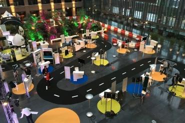 Création d'une installation générale avec plusieurs stands