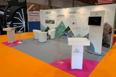 Stand Tunnel Transalpin - Salon SIFER 2019