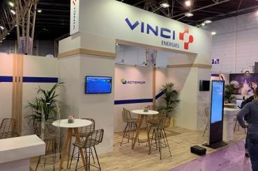 Stand Vinci Energie - Salon SEPEM de Douai